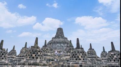 Borobudur by Mkandasa
