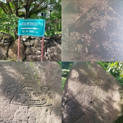 Rock Art of St. Vincent and the Grenadines (T) by Zoë Sheng