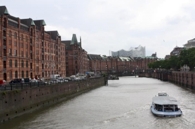 Speicherstadt and Kontorhaus District by Jakob Frenzel