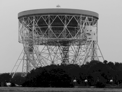 Jodrell Bank Observatory by Clyde