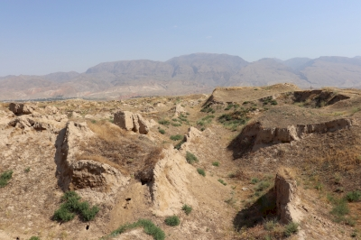 The Site of Ancient Town of Pyanjekent (T) by Walter