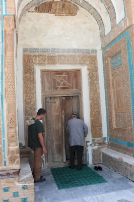 "Mausoleum of ""Mukhammad Bashoro"" (T) by Walter"