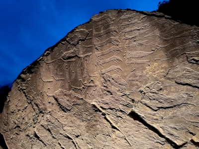 Rock Drawings in Valcamonica by LaVale