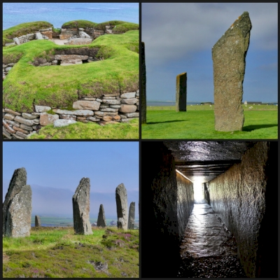 Neolithic Orkney by Clyde