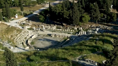 Ancient Greek Theatres (T) by GabLabCebu