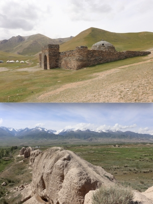 Silk Roads Sites in Kyrgyzstan (T) by Walter