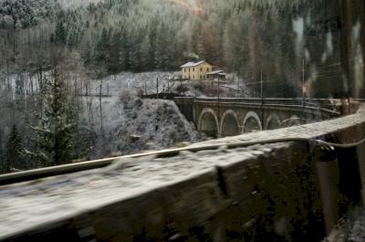Semmering Railway by Ilya Burlak