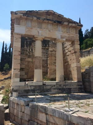 Archaeological Site of Delphi by Travel Addicts