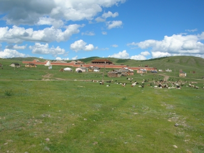 Amarbayasgalant monastery and sacred cultural landscape (T) by Watkinstravel