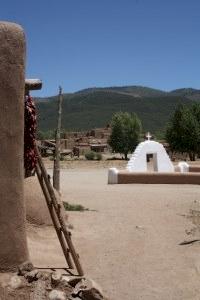 Taos Pueblo by Jakob Frenzel