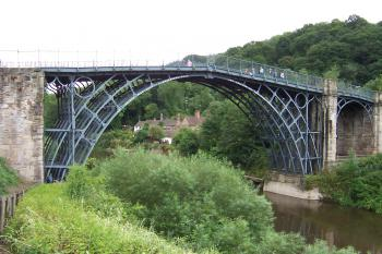 Ironbridge Gorge by Ian Cade