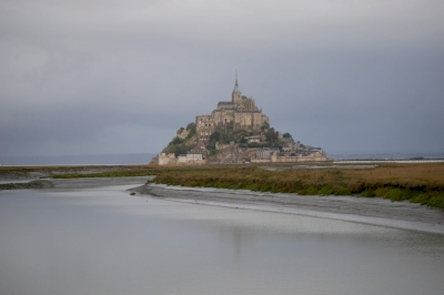 Mont-Saint-Michel by Nan