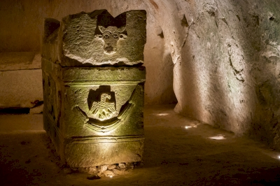 Necropolis of Bet She'arim by Ilya Burlak