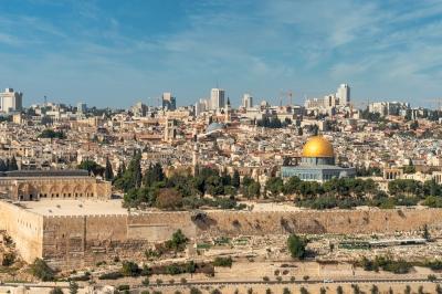 Old City of Jerusalem by Ilya Burlak