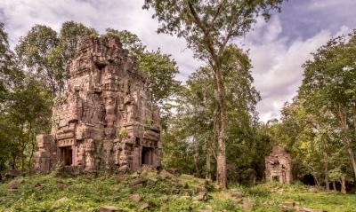 Ensemble du Prah Khan de Kompong Svay (T) by Christravelblog