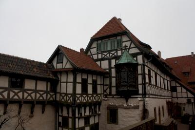 Wartburg Castle by Jakob Frenzel
