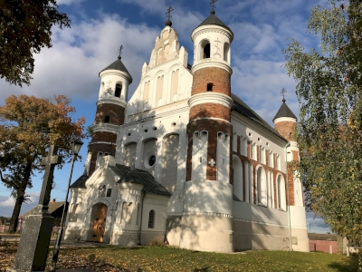 Edifices for Worship of Fortress Type in Belarus, Poland and Lithuania (T)