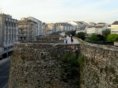 Roman Walls of Lugo by Jay T