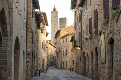 San Gimignano by Michael Turtle