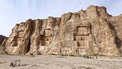 Nasqsh-e Rostam and Naqsh-e Rajab (T) by Juha Sjoeblom