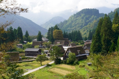 Shirakawa-go and Gokayama by Hubert