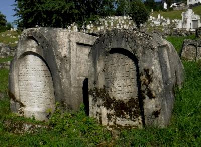 Jewish Cemetery in Sarajevo  (T) by Frédéric M