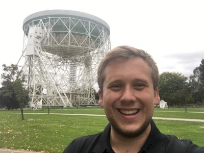 Jodrell Bank Observatory by Thomas Harold Watson