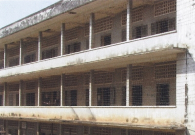 Former M-13 prison/ Tuol Sleng Genocide Museum (former S-21)/ Choeung Ek Genocidal Centre (former Execution Site of S-21) (T) by Els Slots