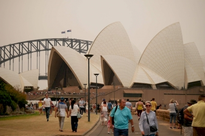 Sydney Opera House by Nan