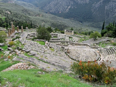 Archaeological Site of Delphi by Jay T