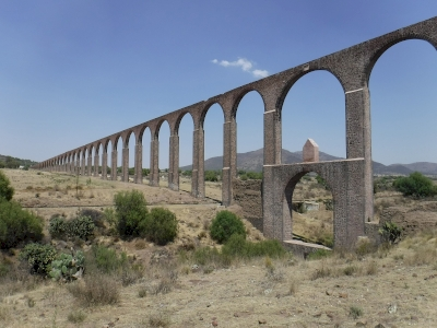 Aqueduct of Padre Tembleque by Frédéric M