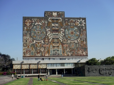 Central University City Campus of the UNAM by Frédéric M