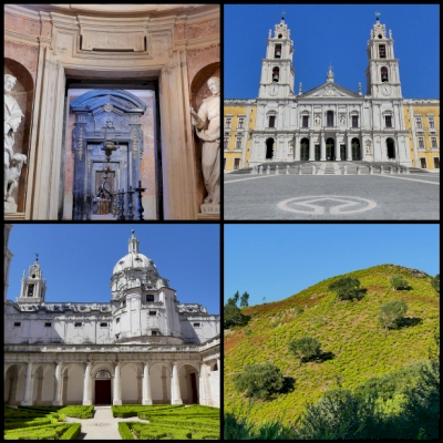 Mafra Palace, Convent and Royal Hunting Park  by Clyde