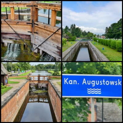 The Augustow Canal (Kanal Augustowski) (T) by Clyde