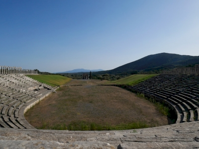 Archaeological site of Ancient Messene (T) by Nan