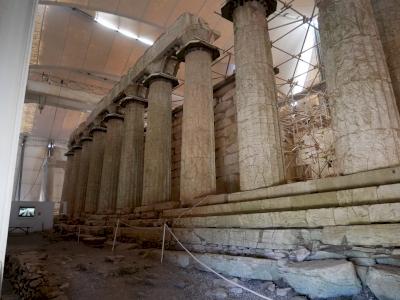 Temple of Apollo Epicurius at Bassae by Nan