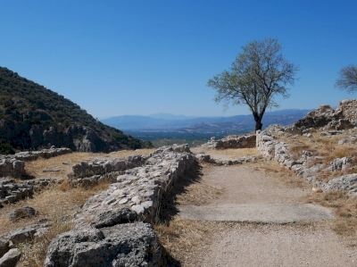 Mycenae and Tiryns by Nan