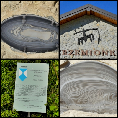 Krzemionki prehistoric striped flint mining region by Clyde