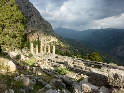 Archaeological Site of Delphi by Astraftis