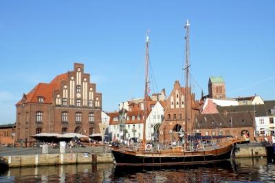 Stralsund and Wismar by Hubert