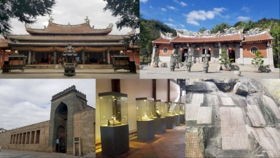 Historic Monuments and Sites of Ancient Quanzhou  (Zayton) (T) by Zoë Sheng