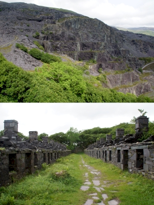 Slate Industry of North Wales (T) by Hubert