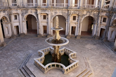 Convent of Christ in Tomar by Jakob Frenzel