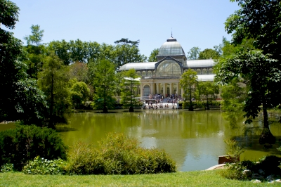 Site of the Retiro and the Prado in Madrid (T) by Hubert