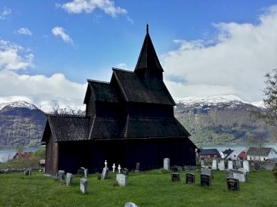 Urnes Stave Church by Nan