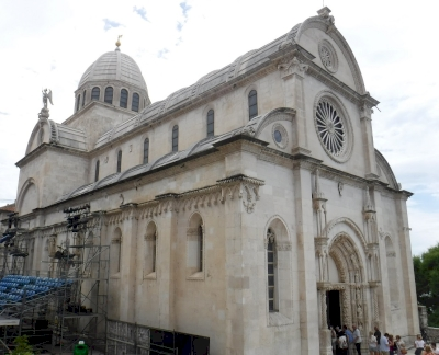 Cathedral of St. James in Sibenik by Frédéric M
