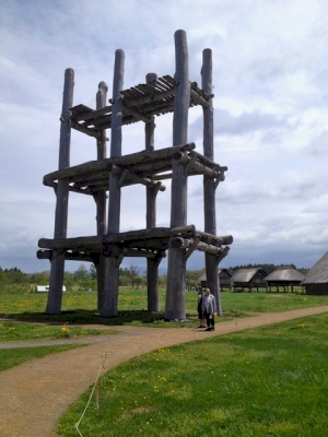 Jomon Prehistoric Sites by Caspar Dechmann