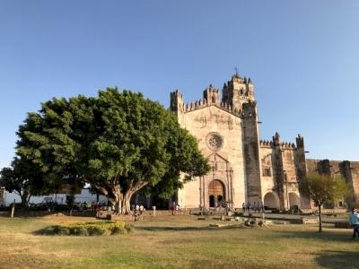 Popocatepetl monasteries