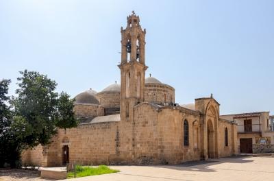 Agioi Varnavas and Ilarion at Peristerona (Five-domed churches) (T) by Riccardo Quaranta