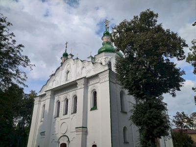 Kyiv: Saint Sophia Cathedral with Related Monastic Buildings, St. Cyril